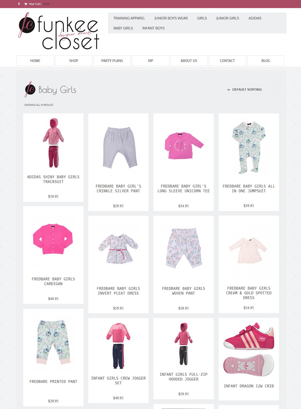 E-butik, barnkläder - The Funkee Closet