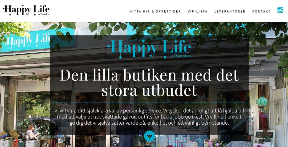 Ny stass till hösten? AS Webstudio har fixat ny outfit till modebutik i Stockholm!