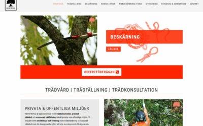Certifierad arborist i Skåne har fått en ny hemsida