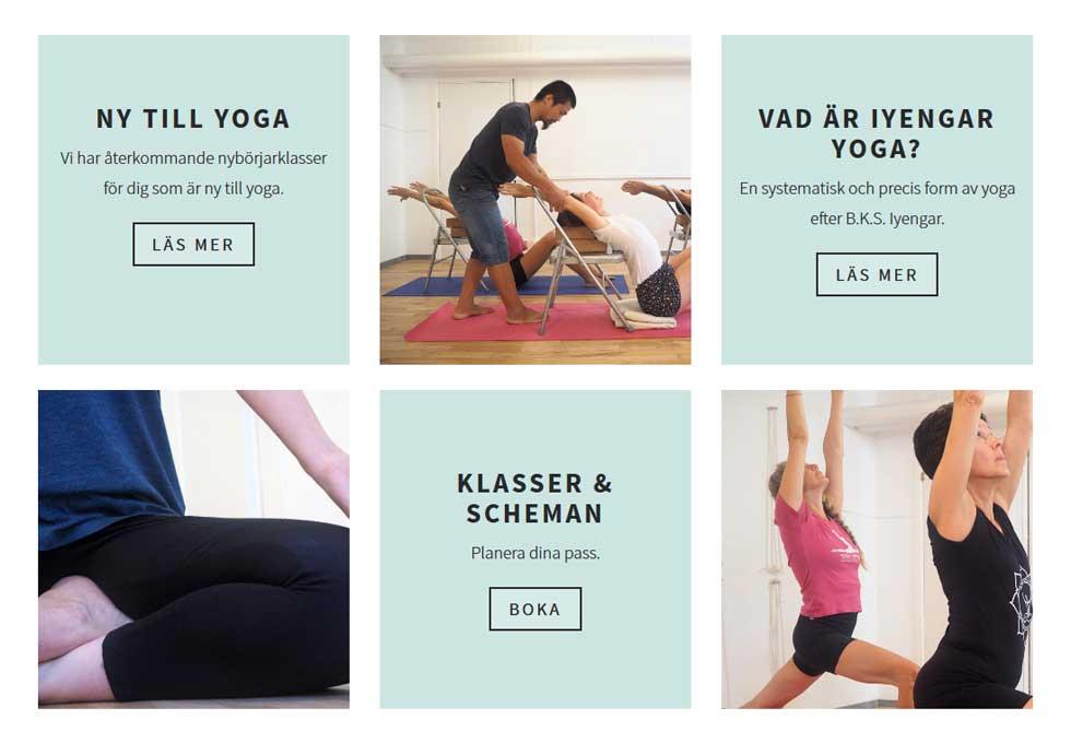 ny hemsida yoga