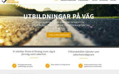 Utbildningar på väg – med ny hemsida