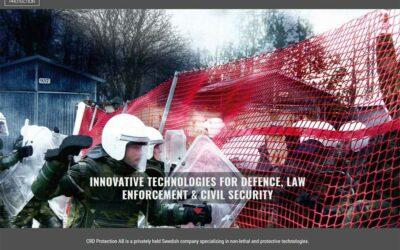 Ny hemsida till CRD Protection
