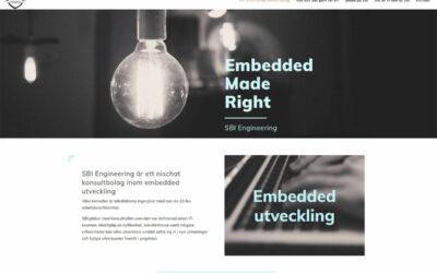 Ny stilren hemsida till konsultbolag i Malmö