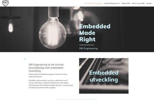 AS webstudio har byggt en ny hemsida till konsultbolag i Malmö