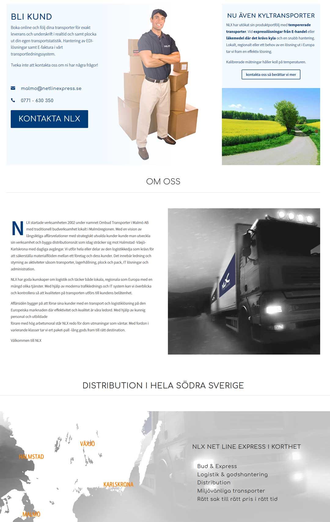 Ny hemsida till företag i Malmö - AS webstudio