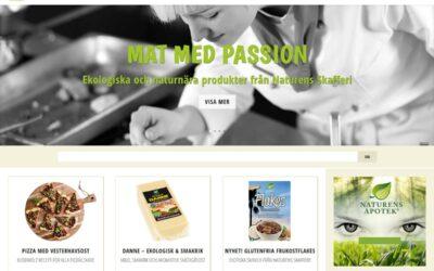 Livsmedelsföretag i Malmö har fått en ny hemsida