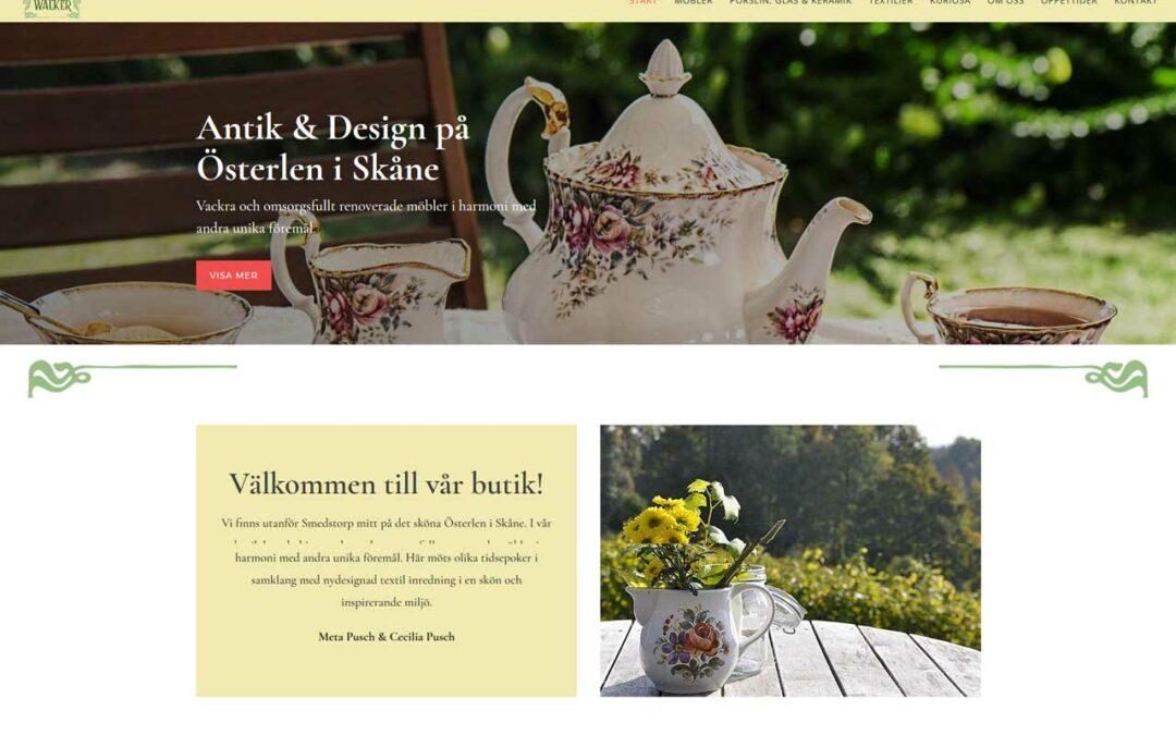 Besök Österlen i sommar och den här trevliga butiken med en ny hemsida!