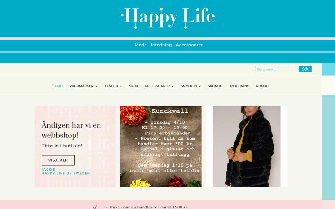 Webbshop byggd till butik i Stockholm