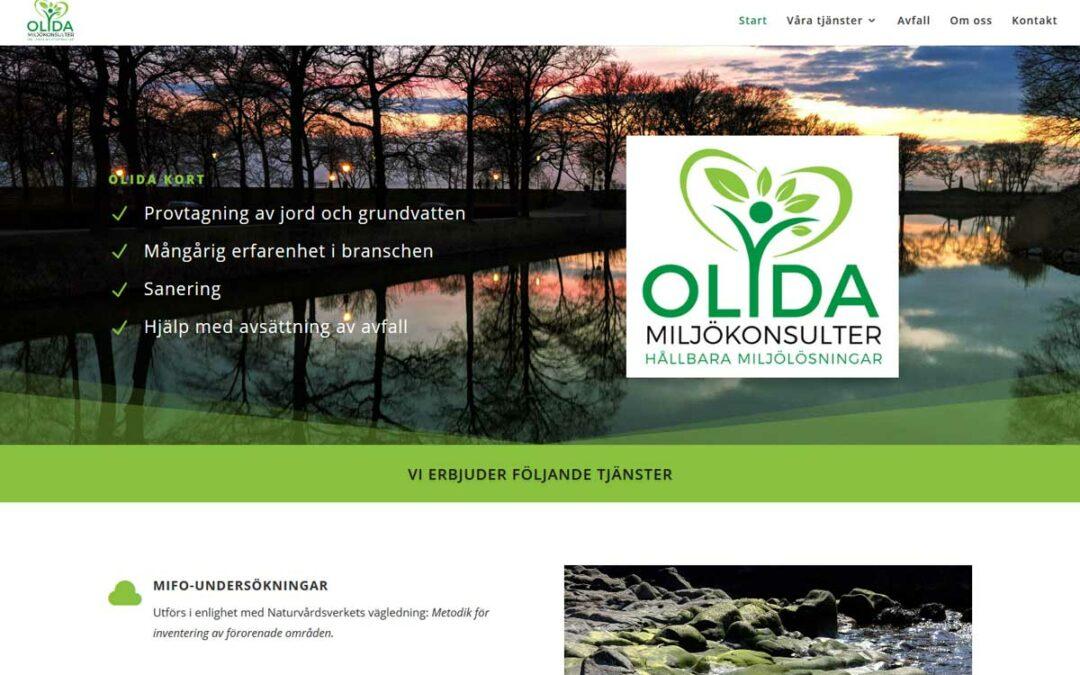 Ny hemsida till konsultföretag i Skåne