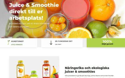Ny hemsida med goda smaker!