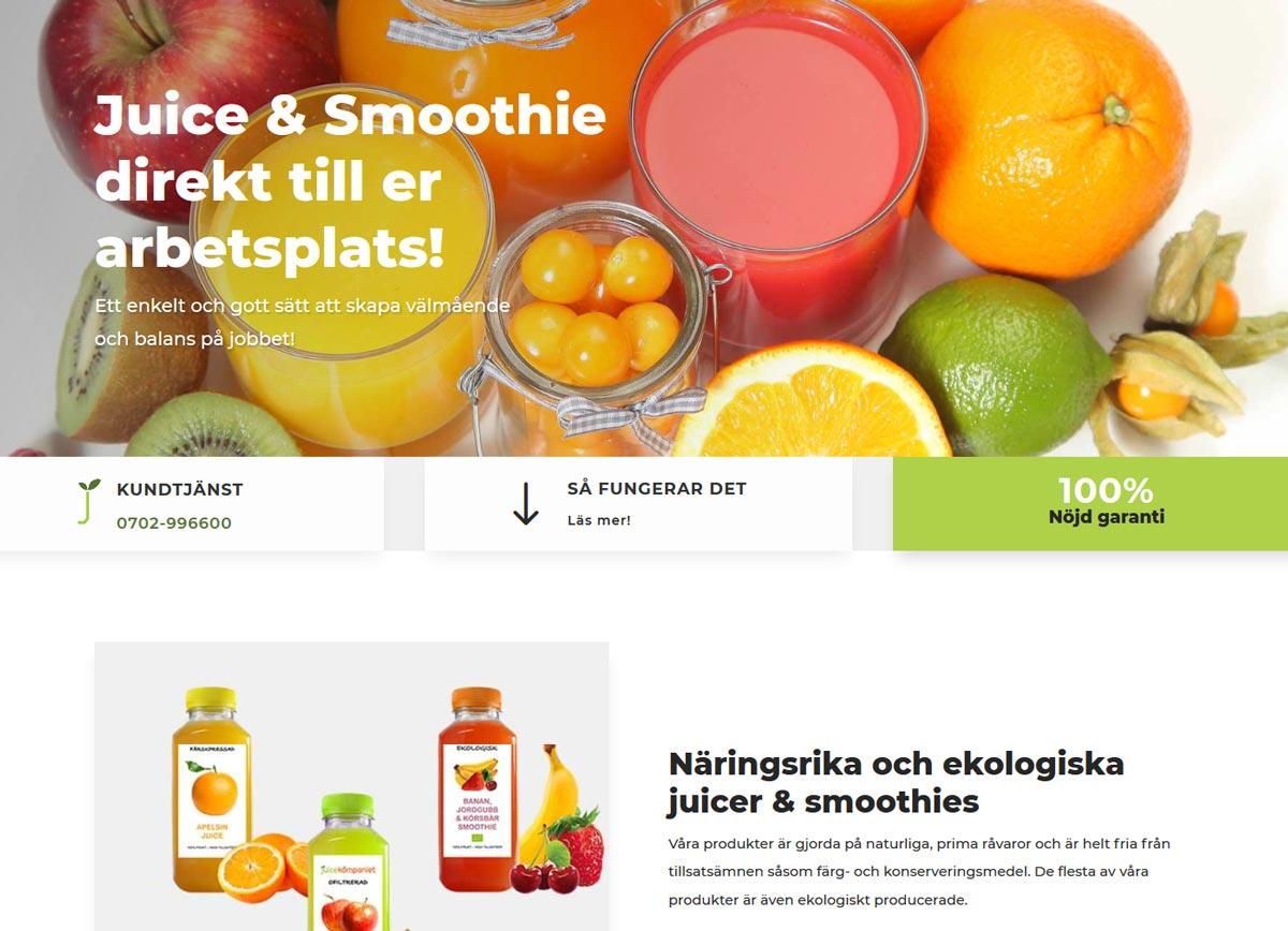 Ny hemsida byggd av AS webstudio