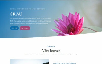 Ny hemsida byggd till förening