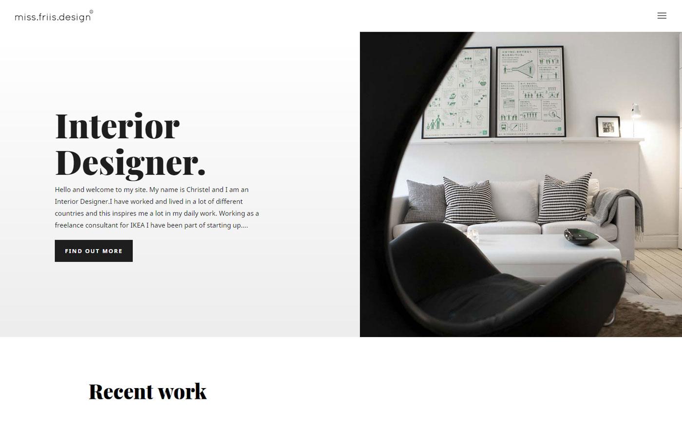 Ny stilren hemsida byggd av AS webstudio i Malmö - Limhamn