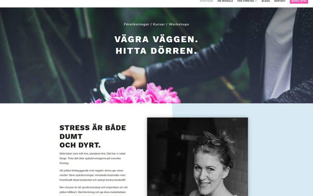 En ny hemsida till företag i Stockholm utan stress!