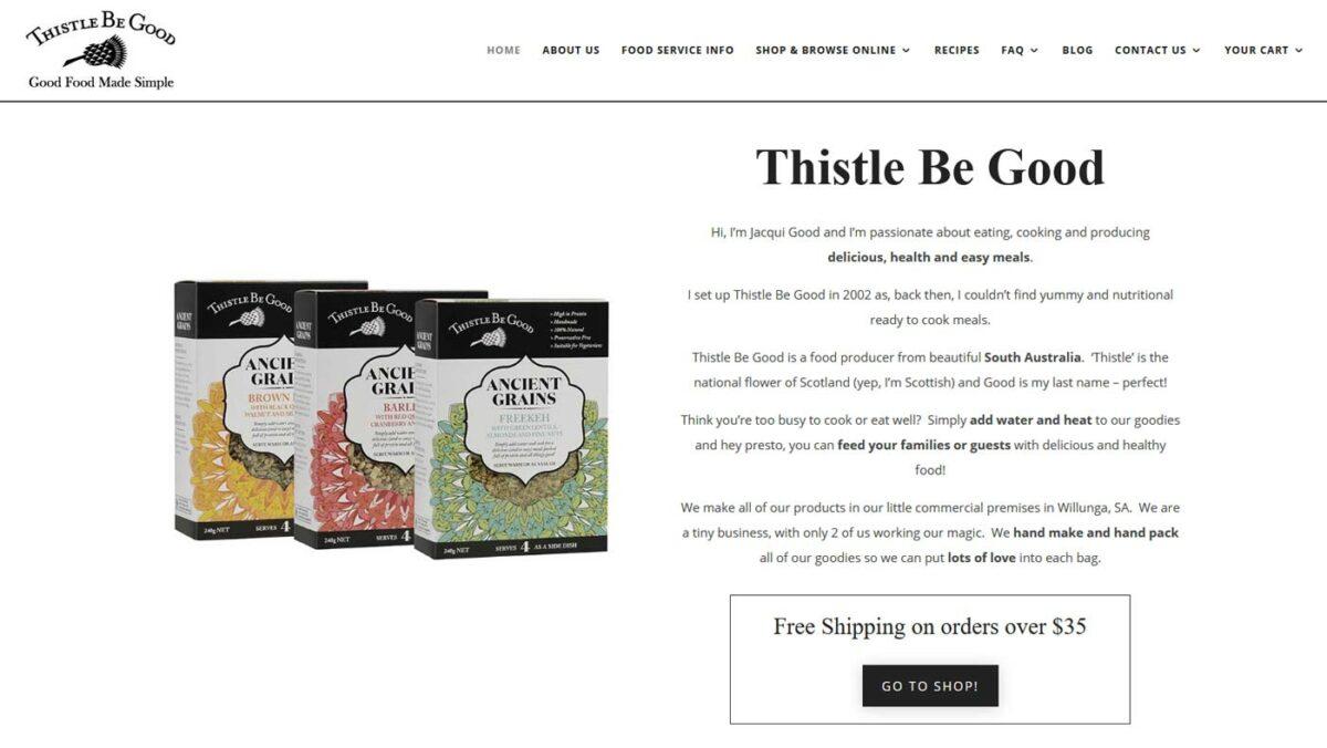 Ny design för webbshop