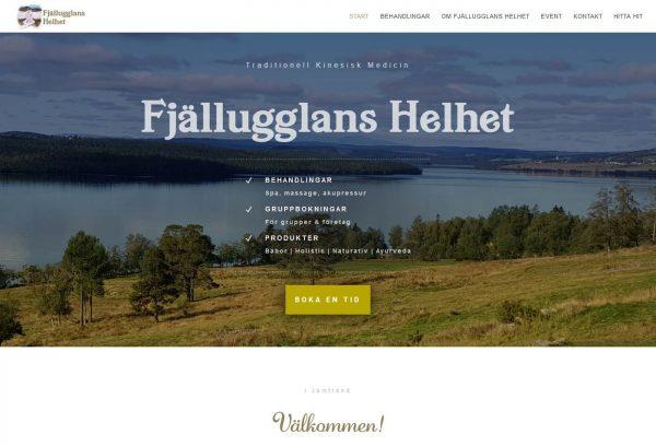 Företag i underbara Jämtland har fått en ny hemsida
