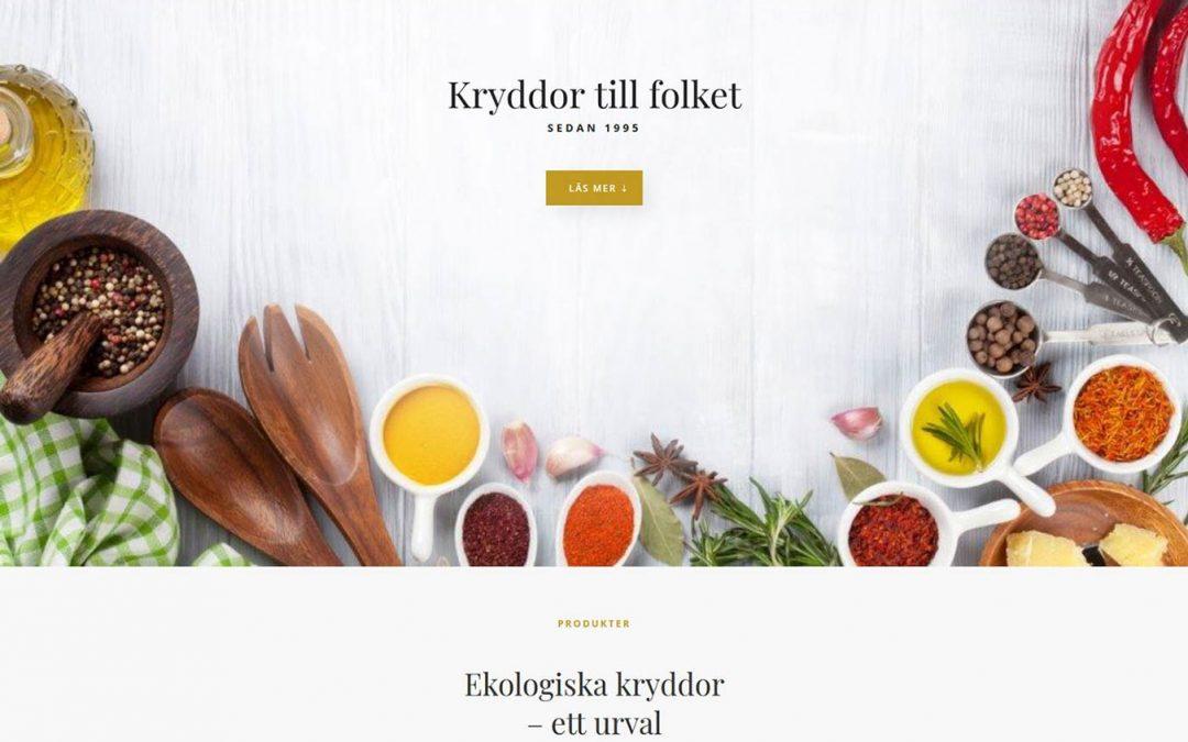 Hemsida lanserad till företag utanför Ystad
