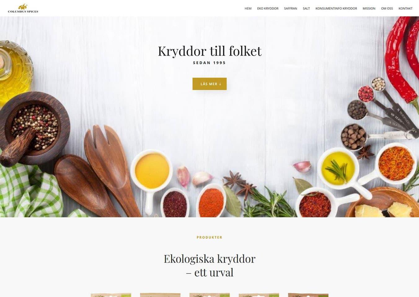 Ny hemsida till företag utanför Ystad lanserad