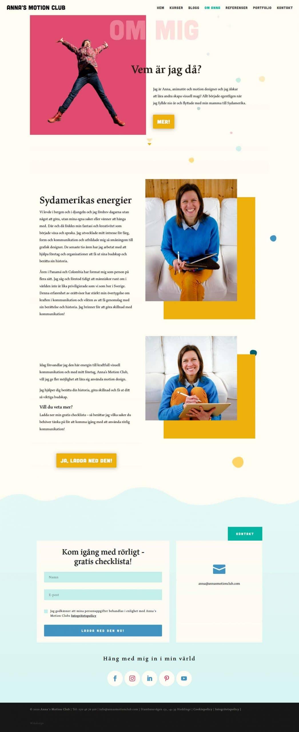 Cool hemsida - AS webstudio