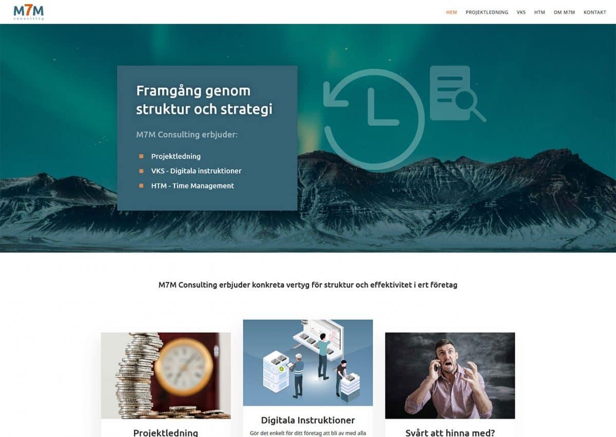 Ny hemsida till effektivt konsultföretag i Lund