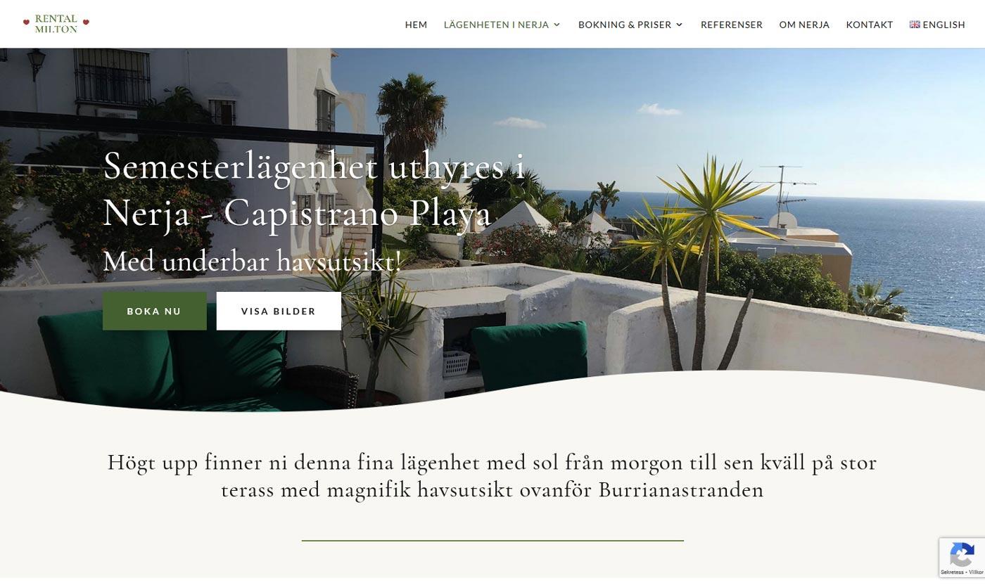 Proffsig hemsida för att hyra ut din bostad